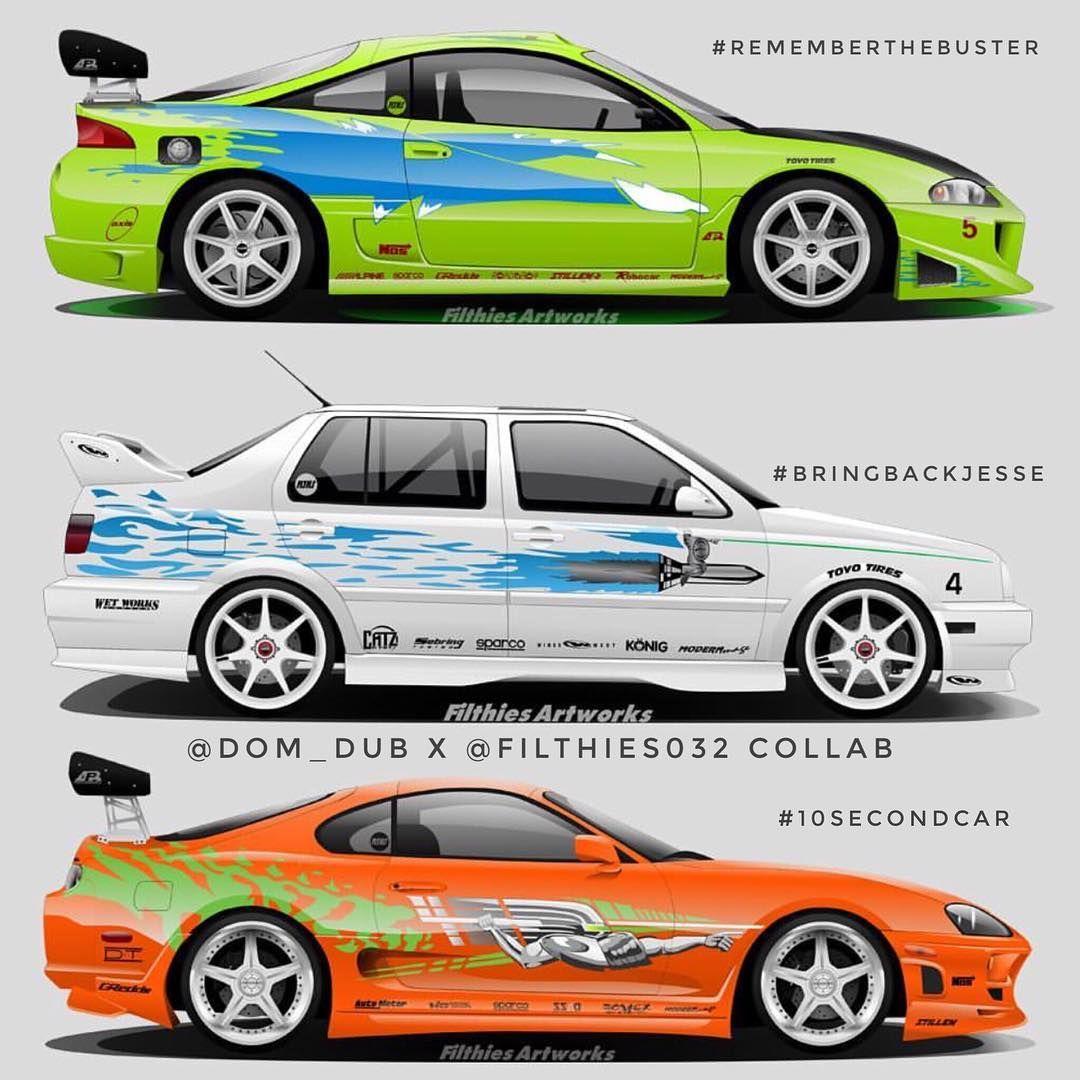Carros Velozes E Furiosos, Desenhos De Carros