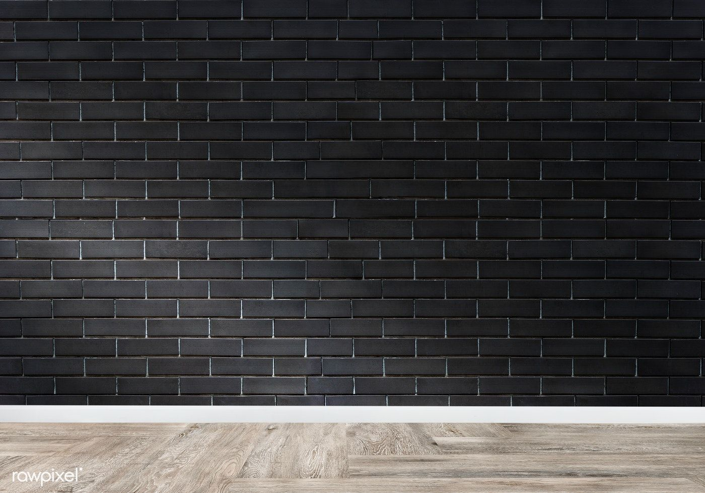 Empty Room With A Brick Wall Mockup Free Image By Rawpixel Com
