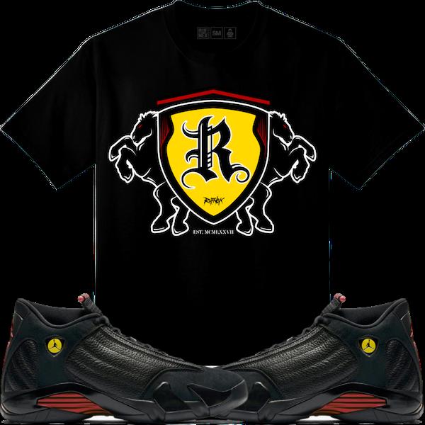2121e83b8aa6f7 Jordan Retro 14 Last Shot Sneaker Tees Shirt - 1400 HP