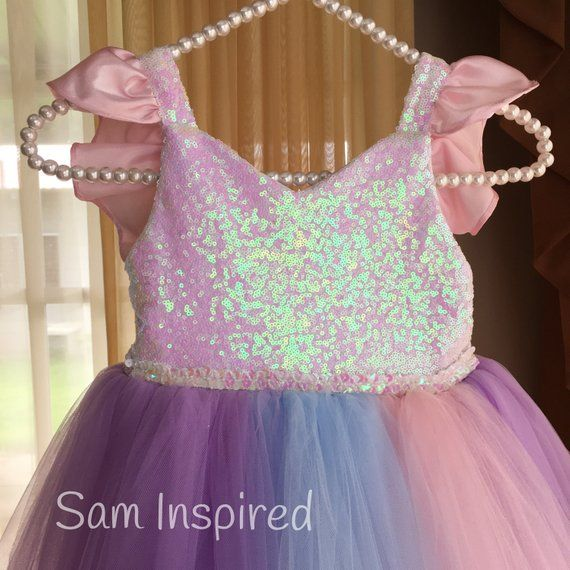 Unicorn Rainbow Dress Unicorn Tutu Dress Unicorn Dresses