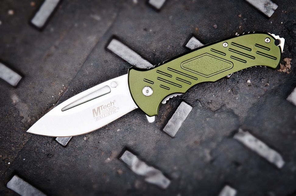 mtech extreme spring assisted opening knife tactical