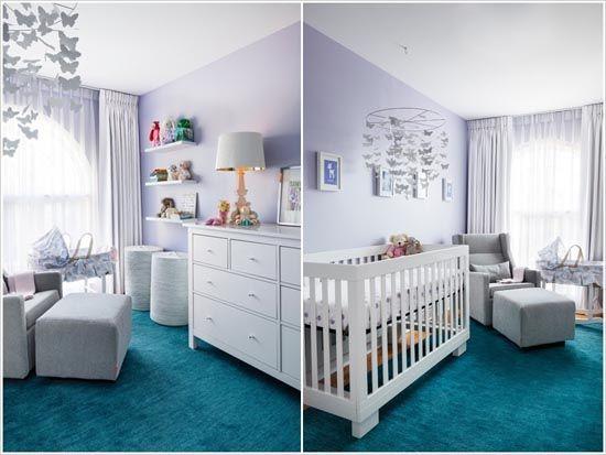Chambre bébé turquoise : Une idée déco toute en originalité ...