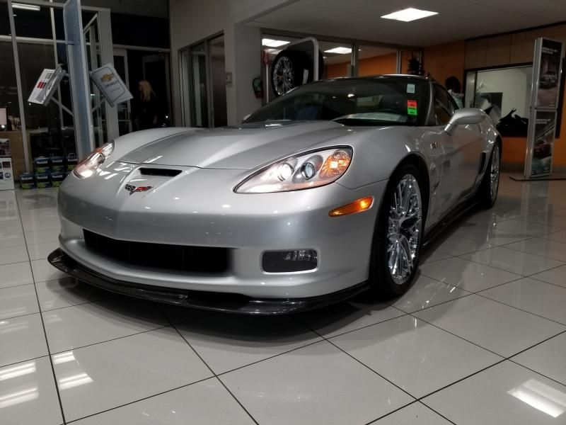 2009 Corvette Coupe for sale California ZR1 3ZR