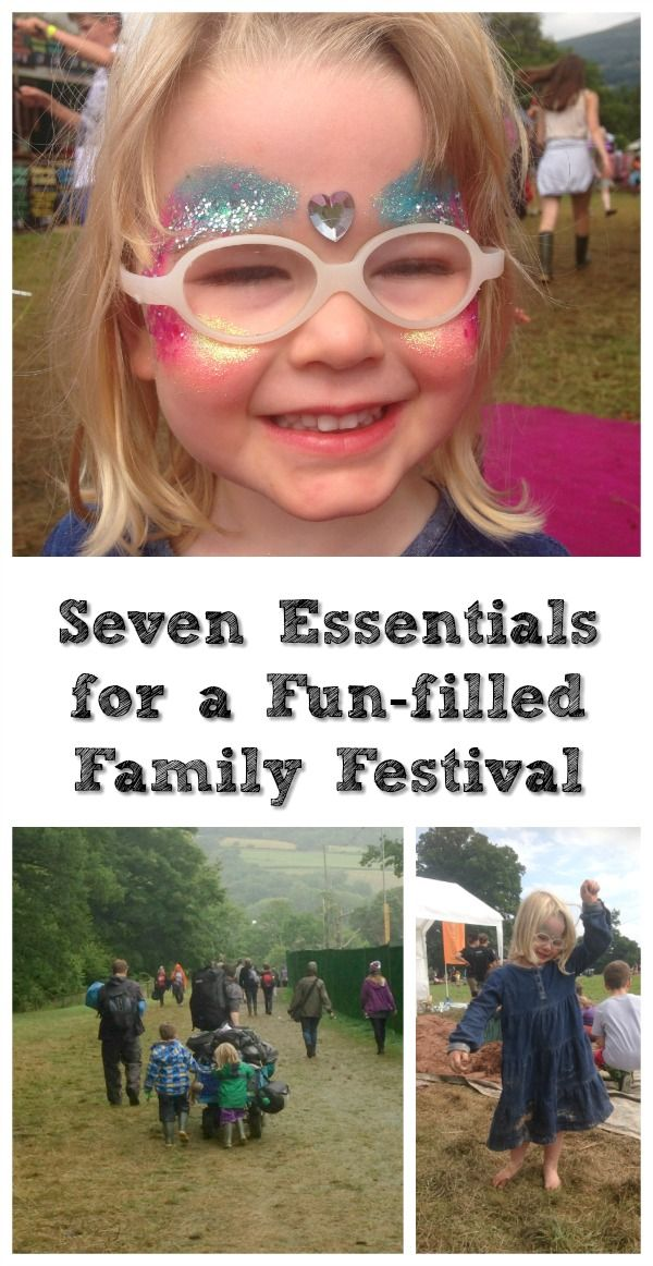 Seven essentials for a fun-filled family festival. If you're going to a festival this summer with children, check out our tips.