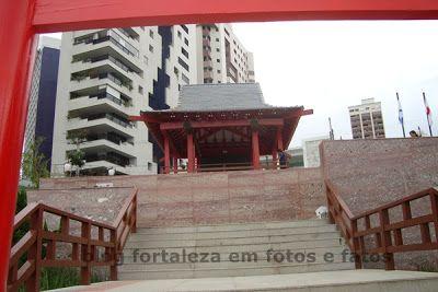Fortaleza em Fotos e Fatos: Jardim Japonês Jusaku Fujita