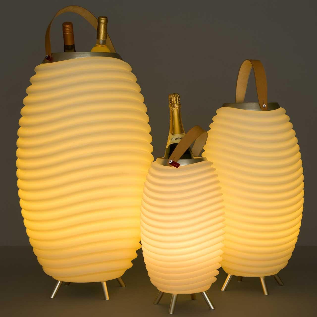 Het Meest Luxueuze Relatiegeschenk Een Light Music Cooler Deze Led Lamp Bluetooth Speaker En Koeler In Een Is Bij Uitstek E Wijnkoeler Verlichting Lampen