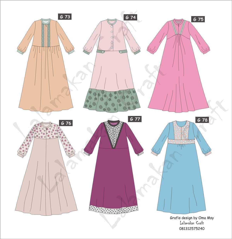 Pesan Pola Busana (Dengan gambar) Sketsa model pakaian