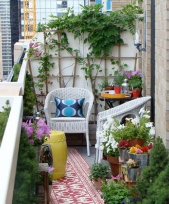 8 Petits Balcons Bien Amenages Decoration Balcon Deco Balcon Et