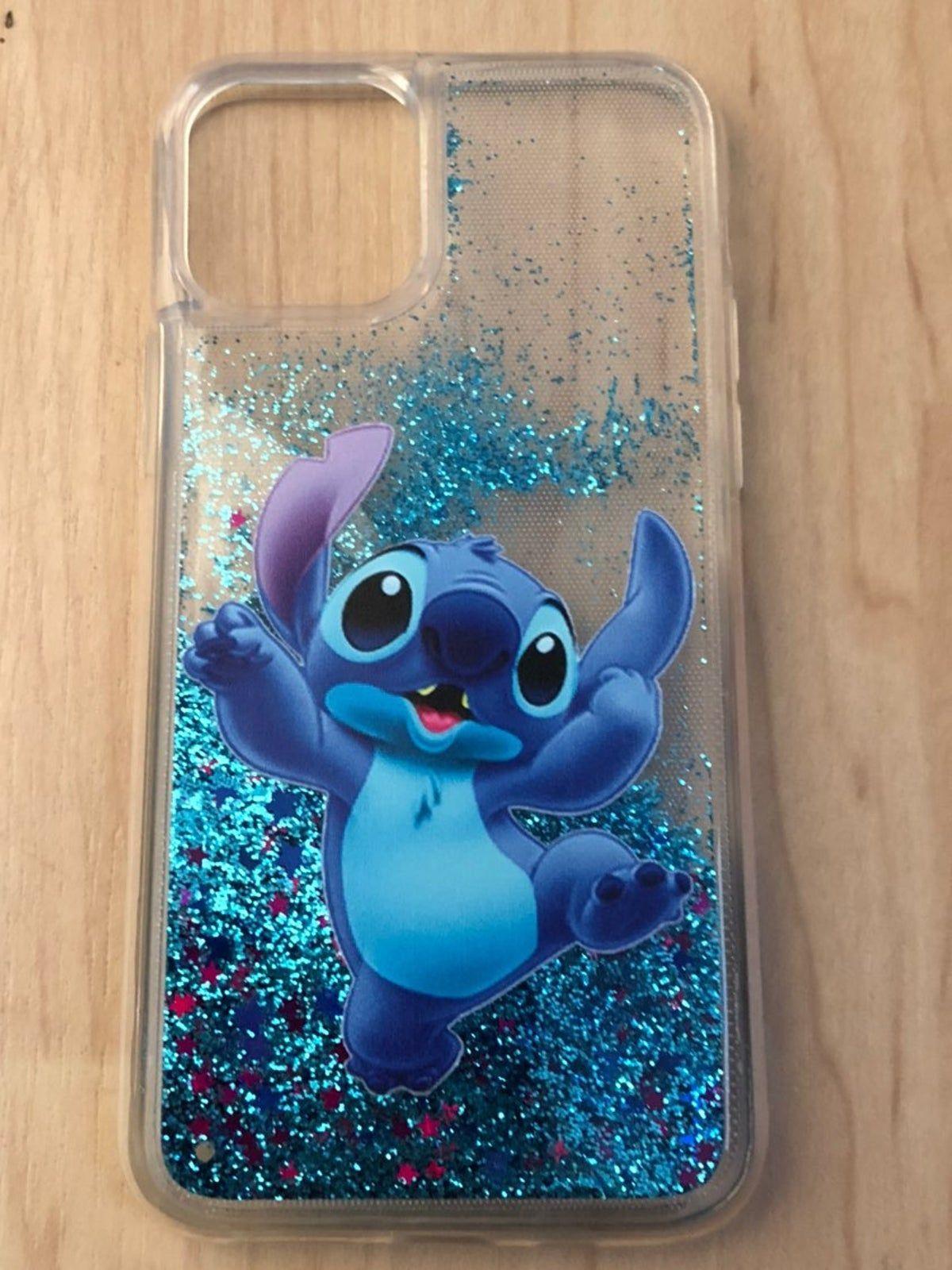 Stitch liquid case iPhone 11 Pro Max   Étuis iphone disney, Étui ...