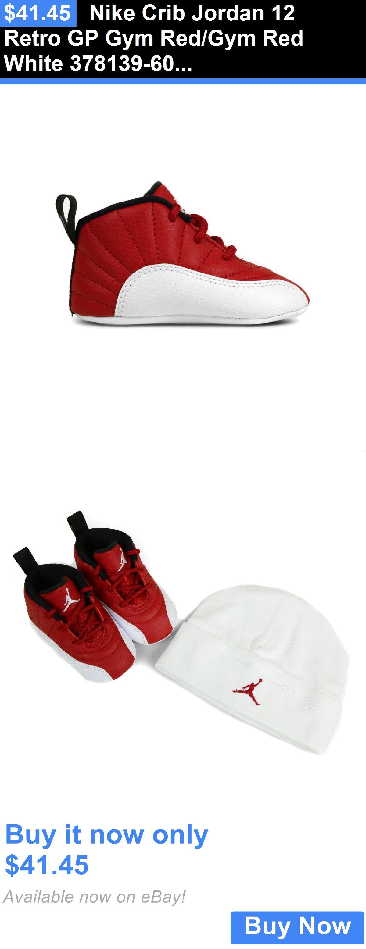 Crib gym for babies - Infant Shoes Nike Crib Jordan 12 Retro Gp Gym Red Gym Red White 378139