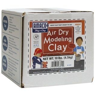 Terra Cotta Air Dry Modeling Clay Is A Moist Ready To Use Clay