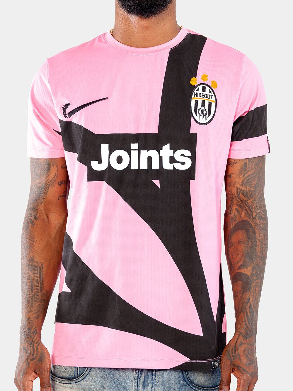 1378b40920d The Hideout Clothing Potent Jersey - Turin Pink 100% Polyester Digital Print  Background
