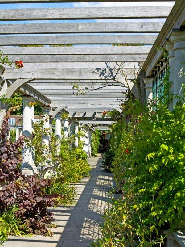 Arcos y p rgolas para el jard n arco jard n y guia de - Arcos de jardin ...