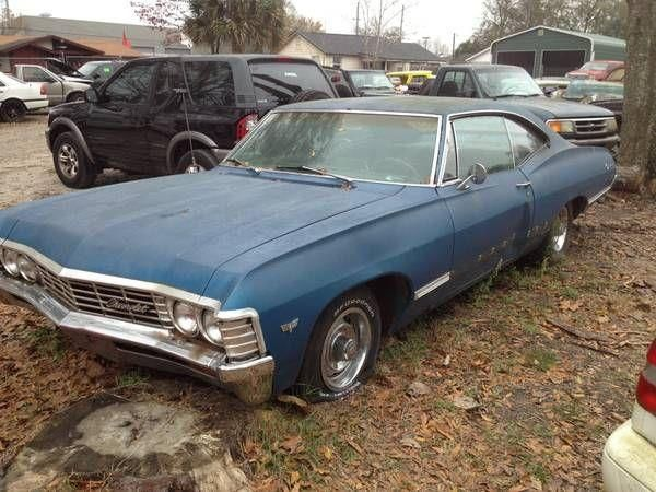 1967 Chevy Impala For Sale In Florida Classics Vehiclenetwork