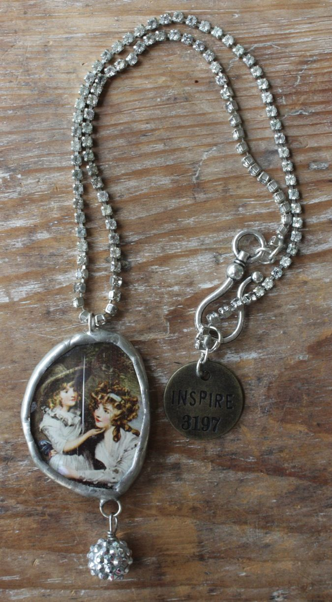 """Inspire  19"""" chain, with 4"""" pendant  $86"""