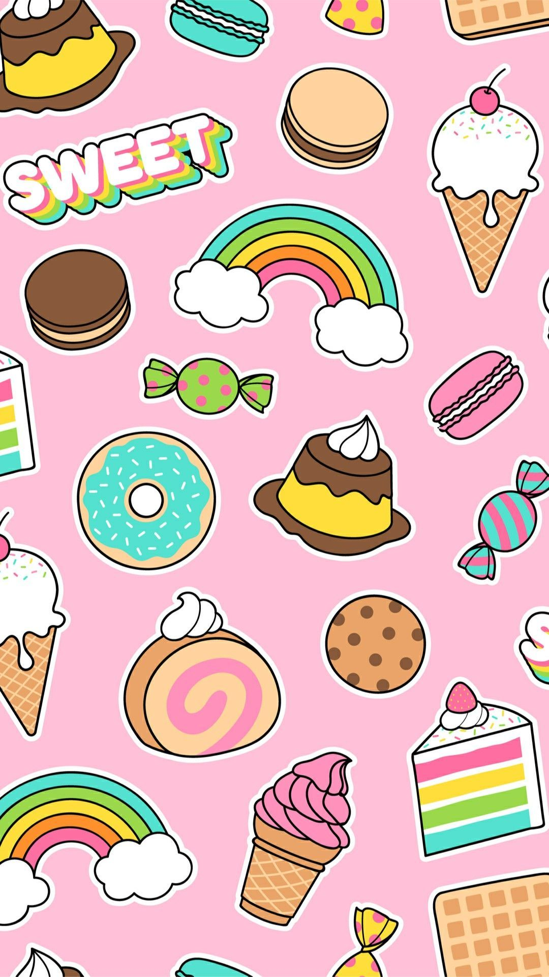 Cute Food Wallpapers Iphone Background Hupages Download Iphone Wallpapers Cute Food Wallpaper Cupcakes Wallpaper Wallpaper Iphone Cute