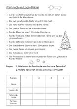 weihnachtslogical - ein sehr schwieriges rätsel für die weihnachtszeit   weihnachtsrätsel für