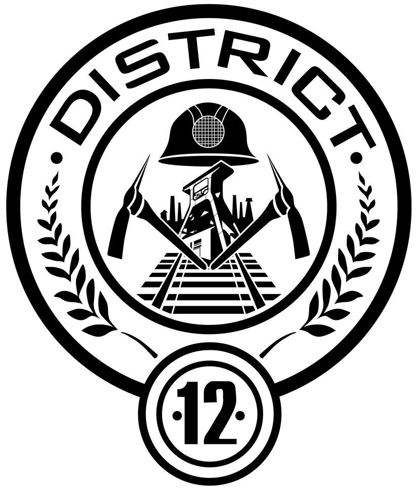 District 12 seal by trebory6 hunger games pinterest hunger the hunger games district 12 laptop decal decorate your laptop with the hunger games district 12 seal from the highly anticipated movie this vinyl lap buycottarizona