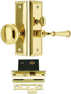 Swarthmore Screen Door Mortise Lock Set With 1 1 2 Backset House Of Antique Hardware Screen Door Mortise Lock Smart Door Locks