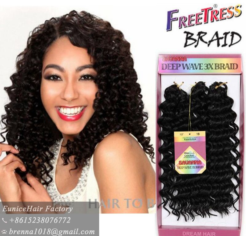 Find More Bulk Hair Information About Freetress Deep Twist Tree Braids Loose Wave Crochet Havana Mambo Bohemian Styles Jerry