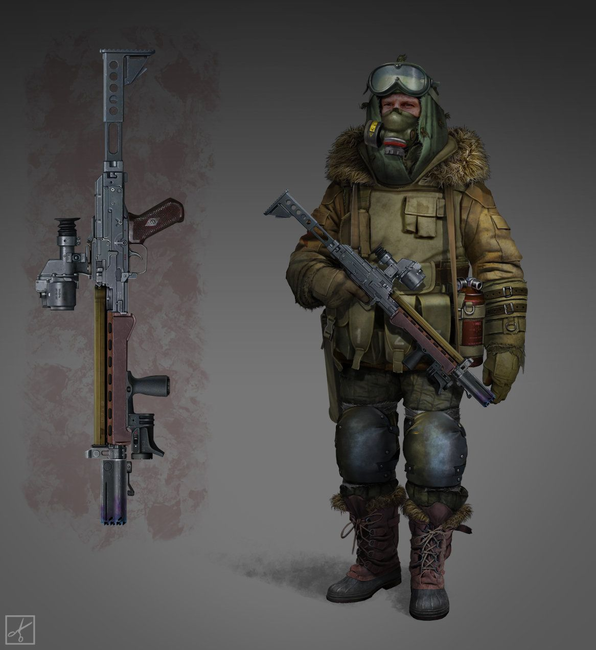 Apocalyptic Soldier Pics: Pin By Михаил Башков On Weapon
