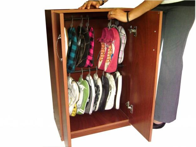 Zapatera organizador de zapatos shoe closet zapatos for Zapatera giratoria para closet