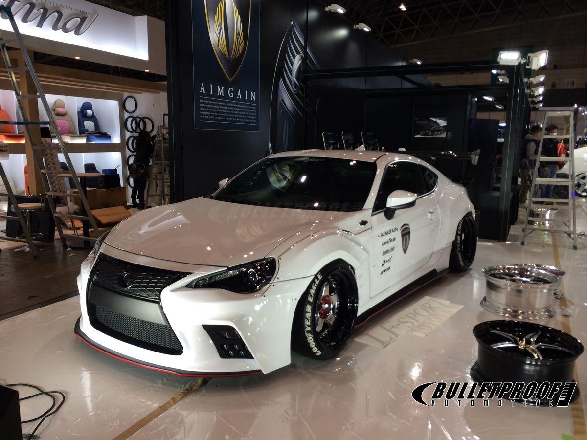 Aimgain scion fr s body kit at toyo auto salon