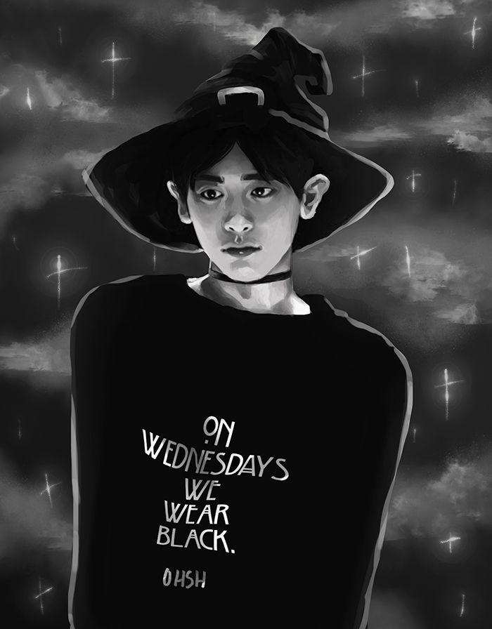 Boy Witch (Chanyeol) by ohsh.deviantart.com on @DeviantArt