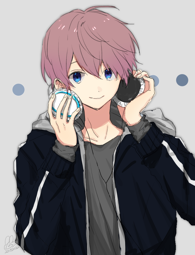 Pin by Meiree on Favorites♡ Anime boy with headphones