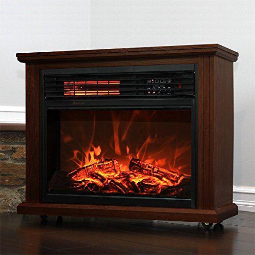 Outstanding Amazon Com Xtremepowerus Infrared Quartz Electric Fireplace Interior Design Ideas Inesswwsoteloinfo