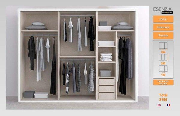 11++ Como vestir un armario empotrado por dentro ideas