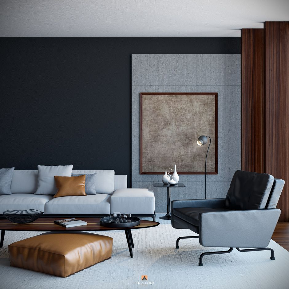 Home house & components rooms living room maximize your space and master your aesthetic with our living room designs, furniture and accessories. The Challenge by Tarek Gerges   Architecture   3D ...