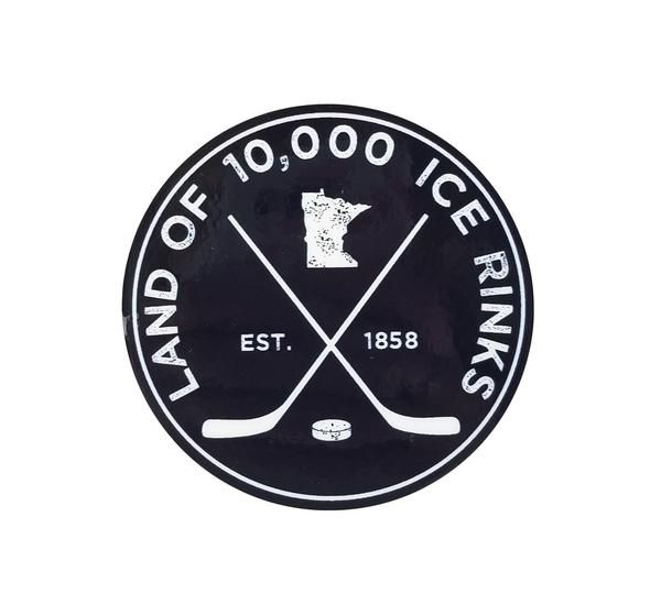 Outdoor Stickers, Stickers, Ice Rink