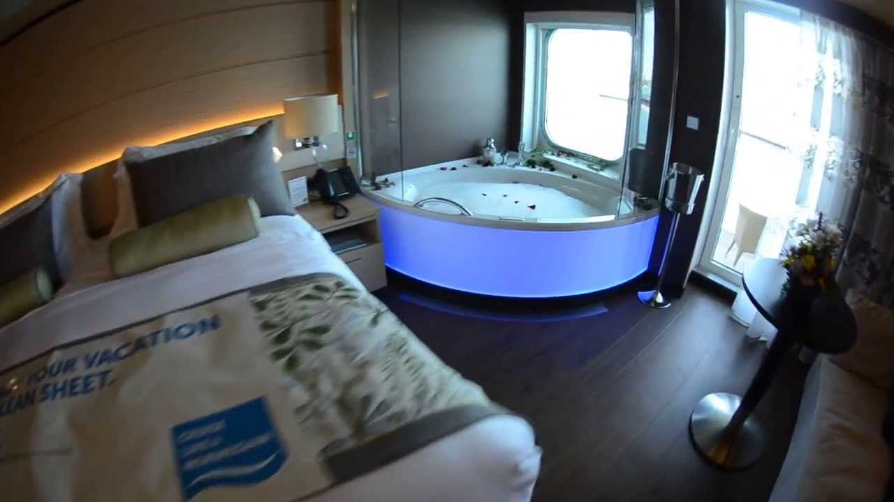 New Norwegian Getaway Haven Spa Suite Tour Norwegian Cruise Getaway Getaways Suite