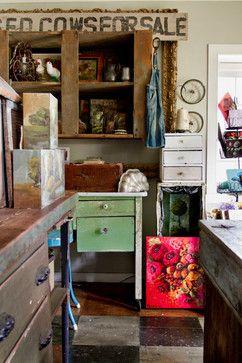 My Houzz Jennifer Richard Lanne Farmhouse Home Office