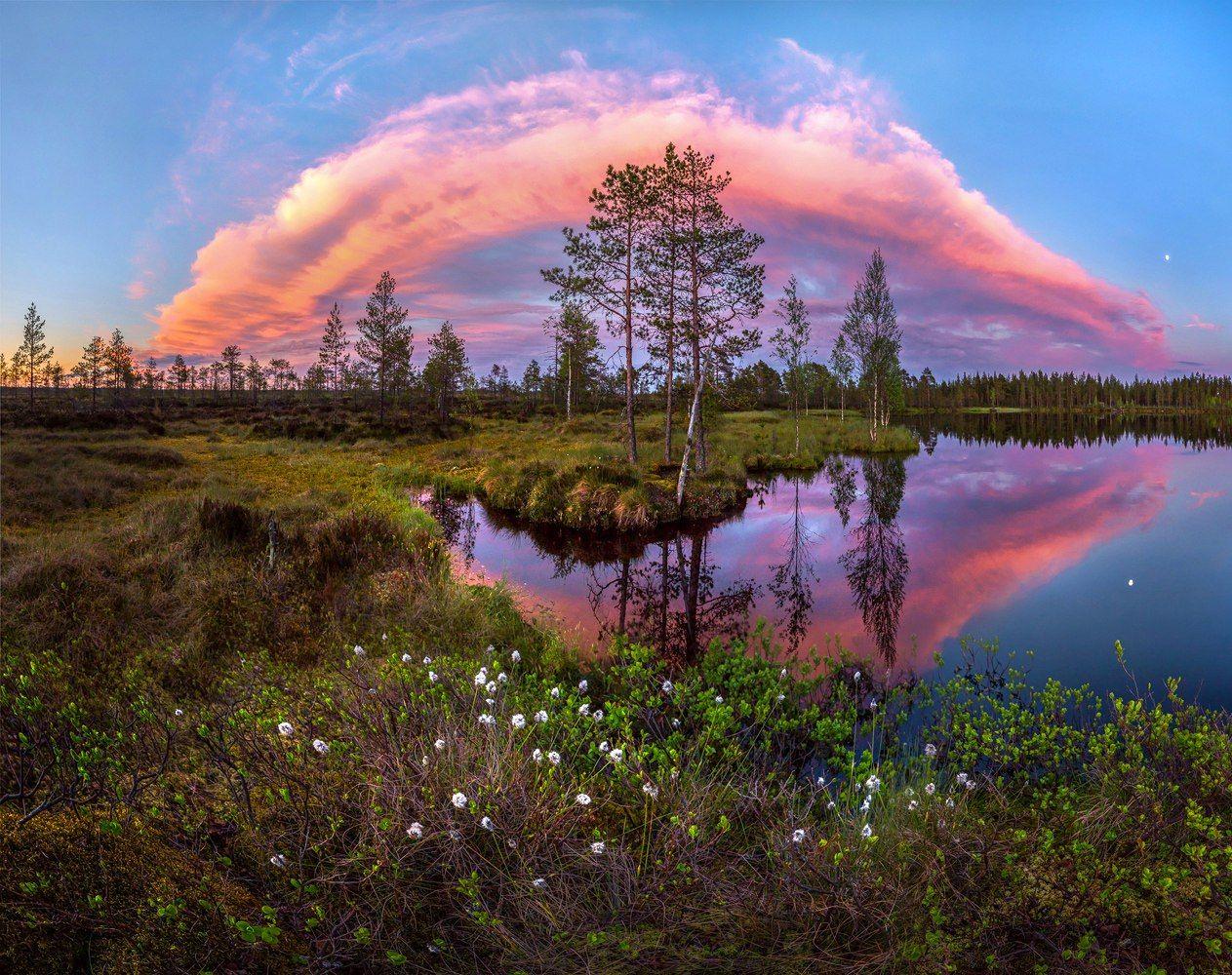 Красивые пейзажи россии фото