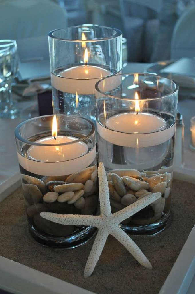 Image result for decoration with candles