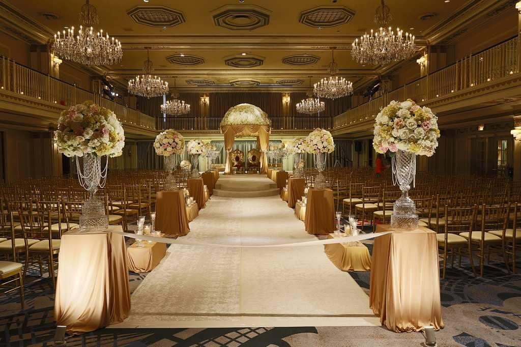indian weddings, luxury weddings, mandap | grand ballroom, the