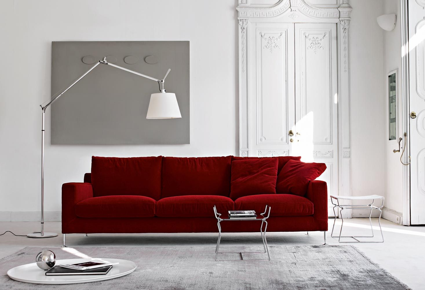 sofa harry collection b b italia design antonio citterio rh pinterest com