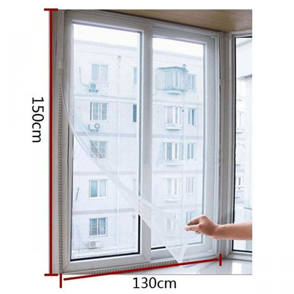 2x Insect Fly Bug Mosquito Net Mesh Screen Curtain For Doors
