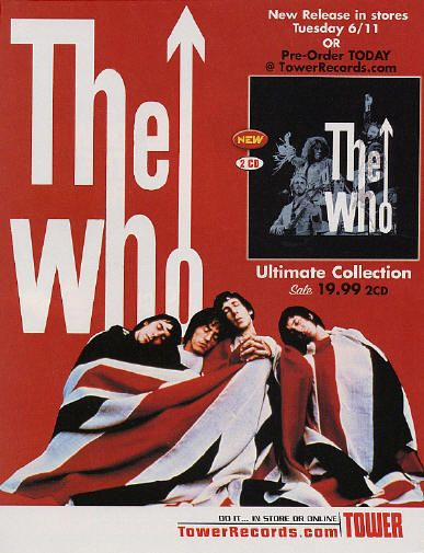 The Who (ad For Ultimate Collection)