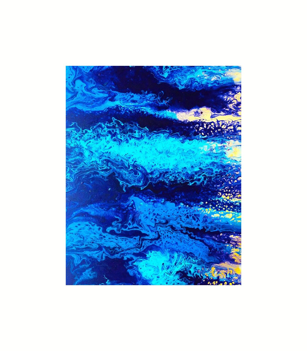 abstract art wall art inspiration painting studio