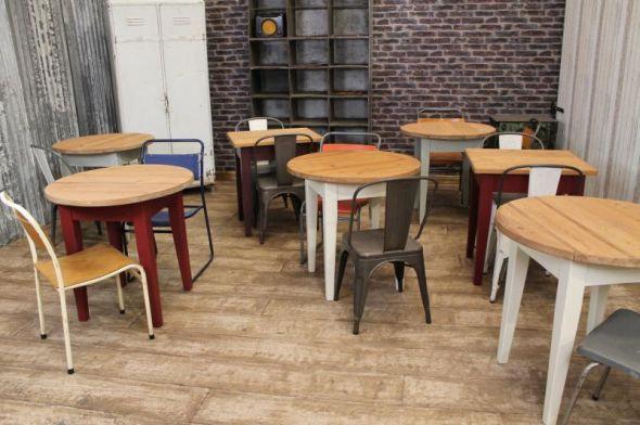 rustic pine tables restaurant tables cafe tables catering use rh pinterest com