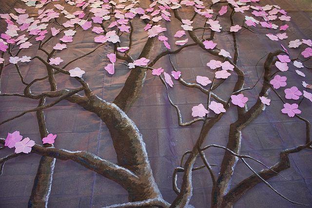 Origami Cherry Blossom Tree