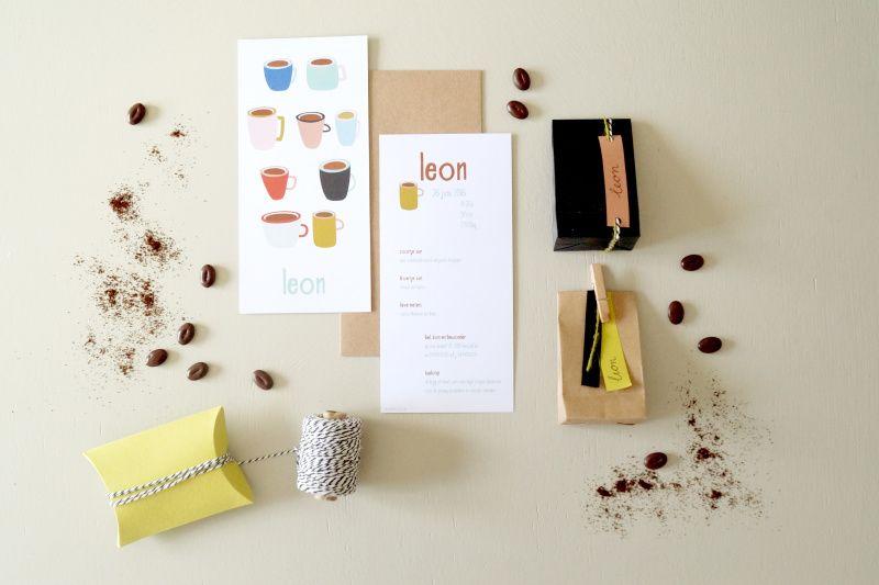 Leon | Geboortekaartjes | De Kaartjesfee geboortekaartjes