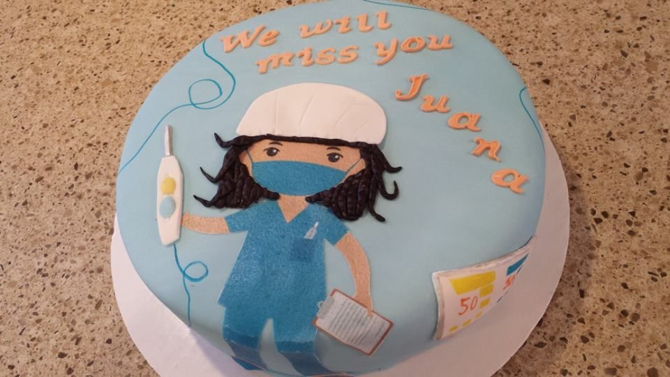Nurse cakes Operating Room Nurse CakeNurse is