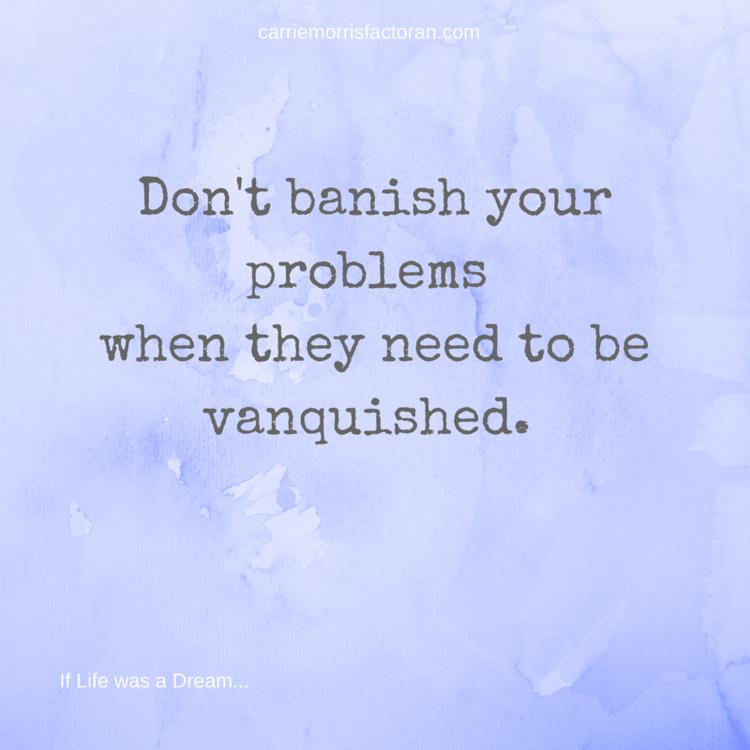 Inspirational Quotes On Pinterest: Banish Or Vanquish