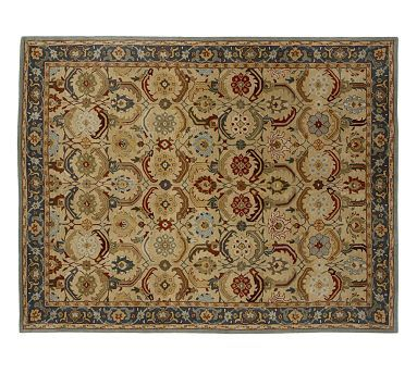 Eva Persian Style Rug #potterybarn   Great Color For Any Of The Room