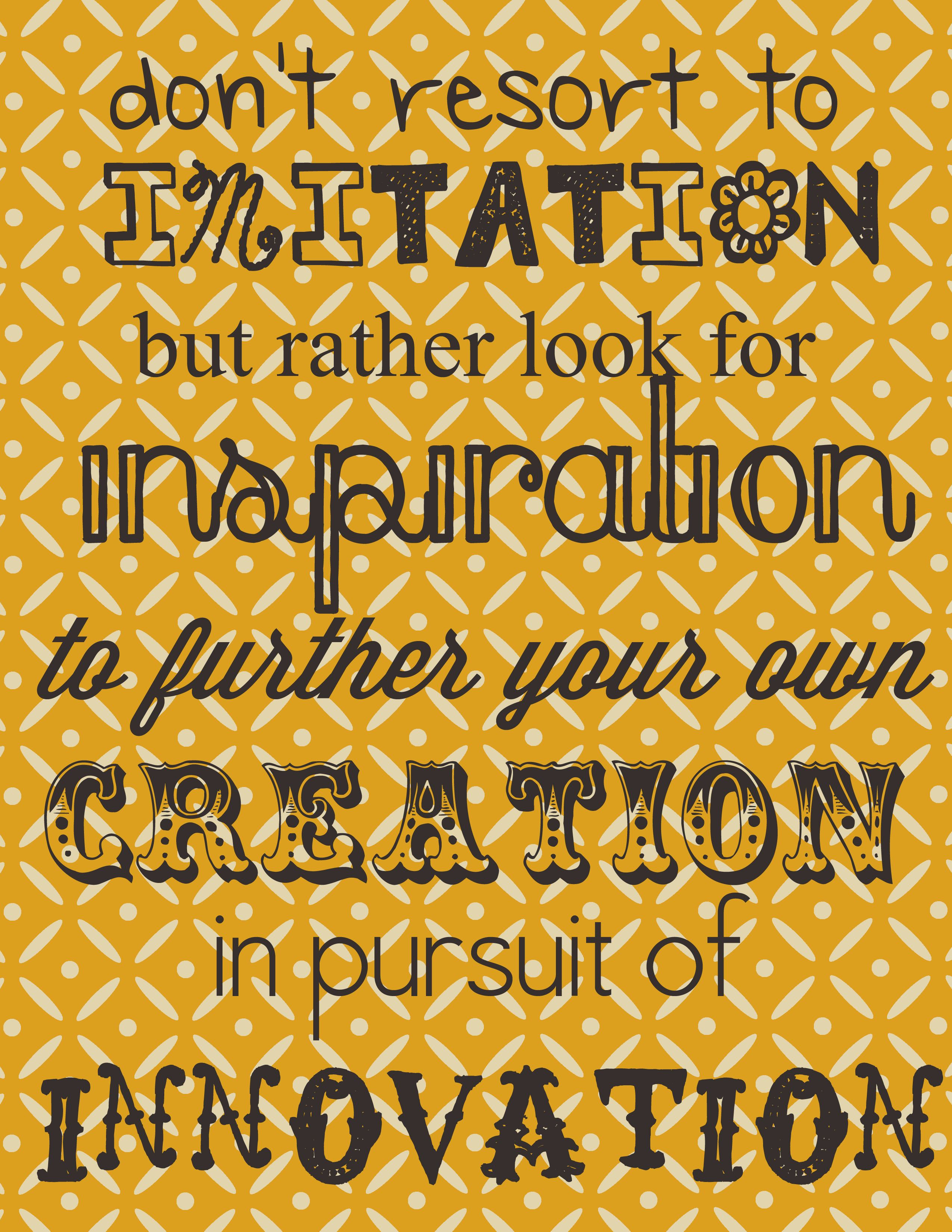 Best 25+ Imitation quotes ideas on Pinterest | Copying ...