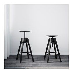 bar stool dalfred black becky ikea barstools ikea bar black rh pinterest com